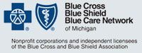 Blue Cross Blue Shield Blue Care Network logo